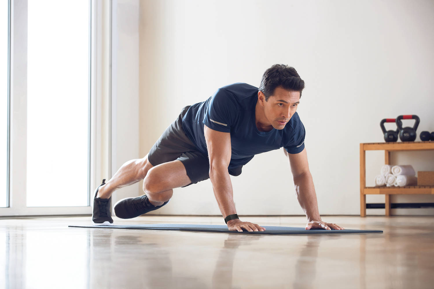 connected home workout