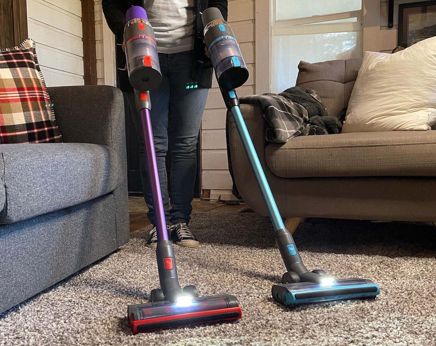 ASHEN Stick Vacuum V18 and V16 review