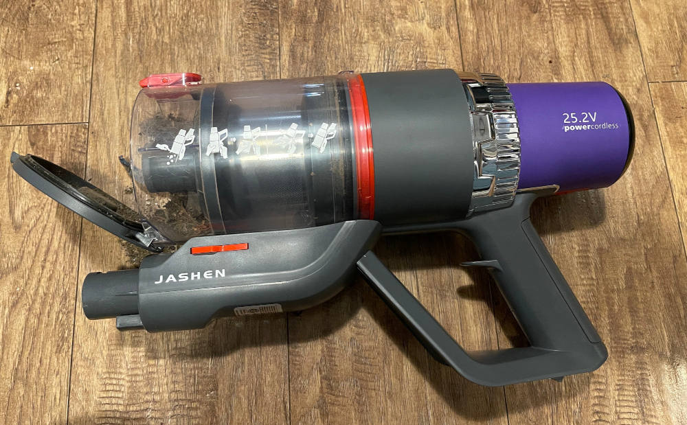 Jashen V16 stick vacuum review