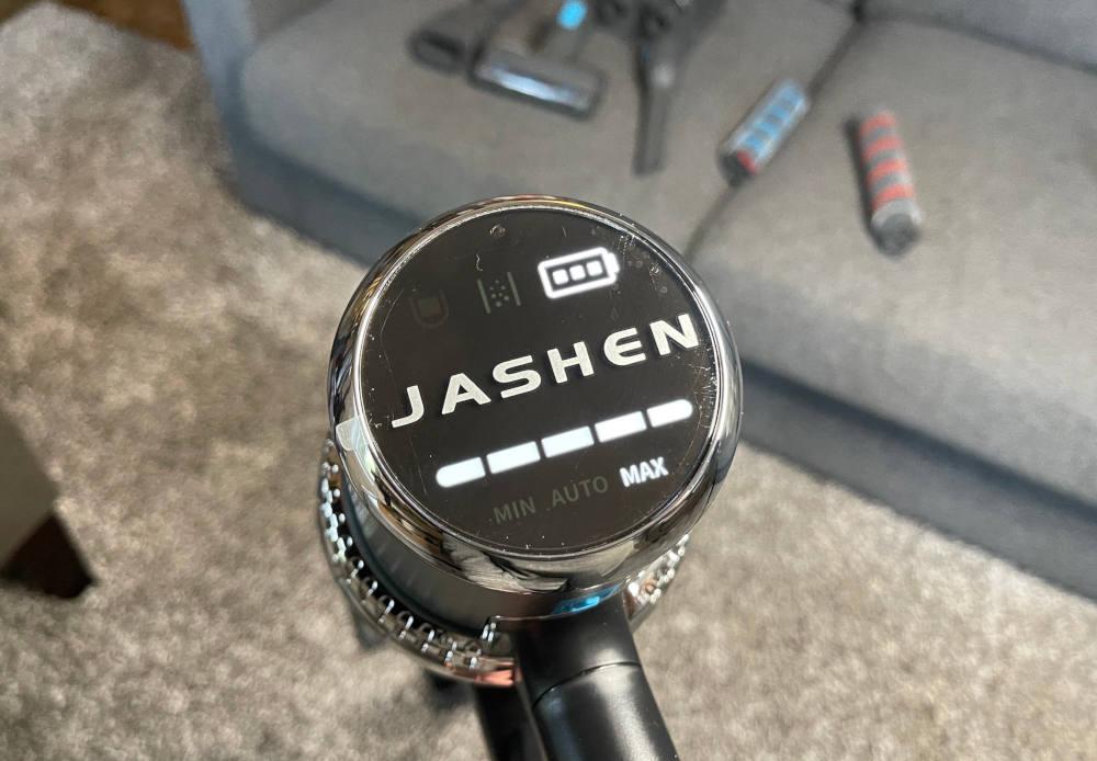 Jashen battery indicator stick vacuum