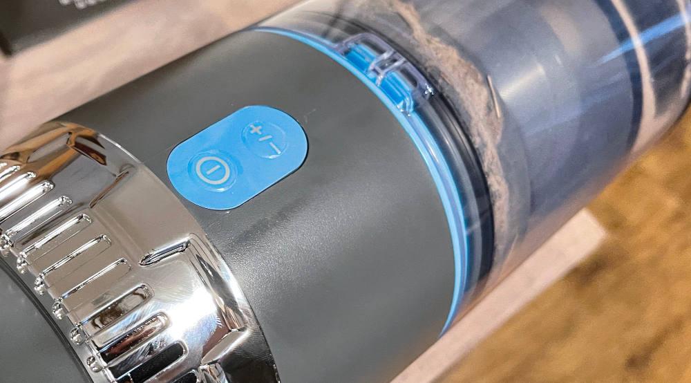 Jashen stick vacuum on off switch