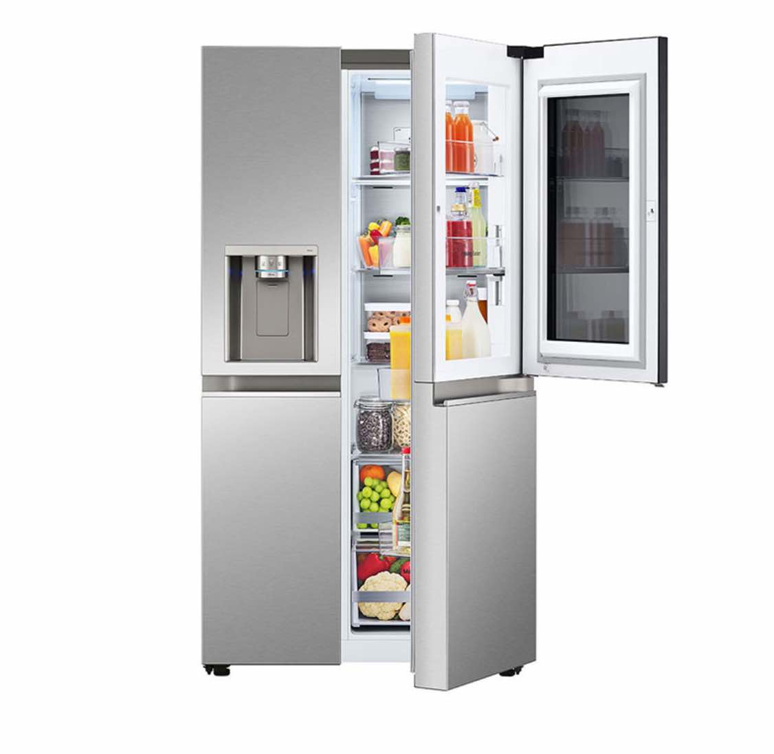 LG Side By Side InstaView Refrigerator