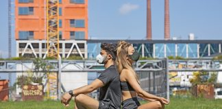 Airpop Active+ Smart Mask Lifestyle