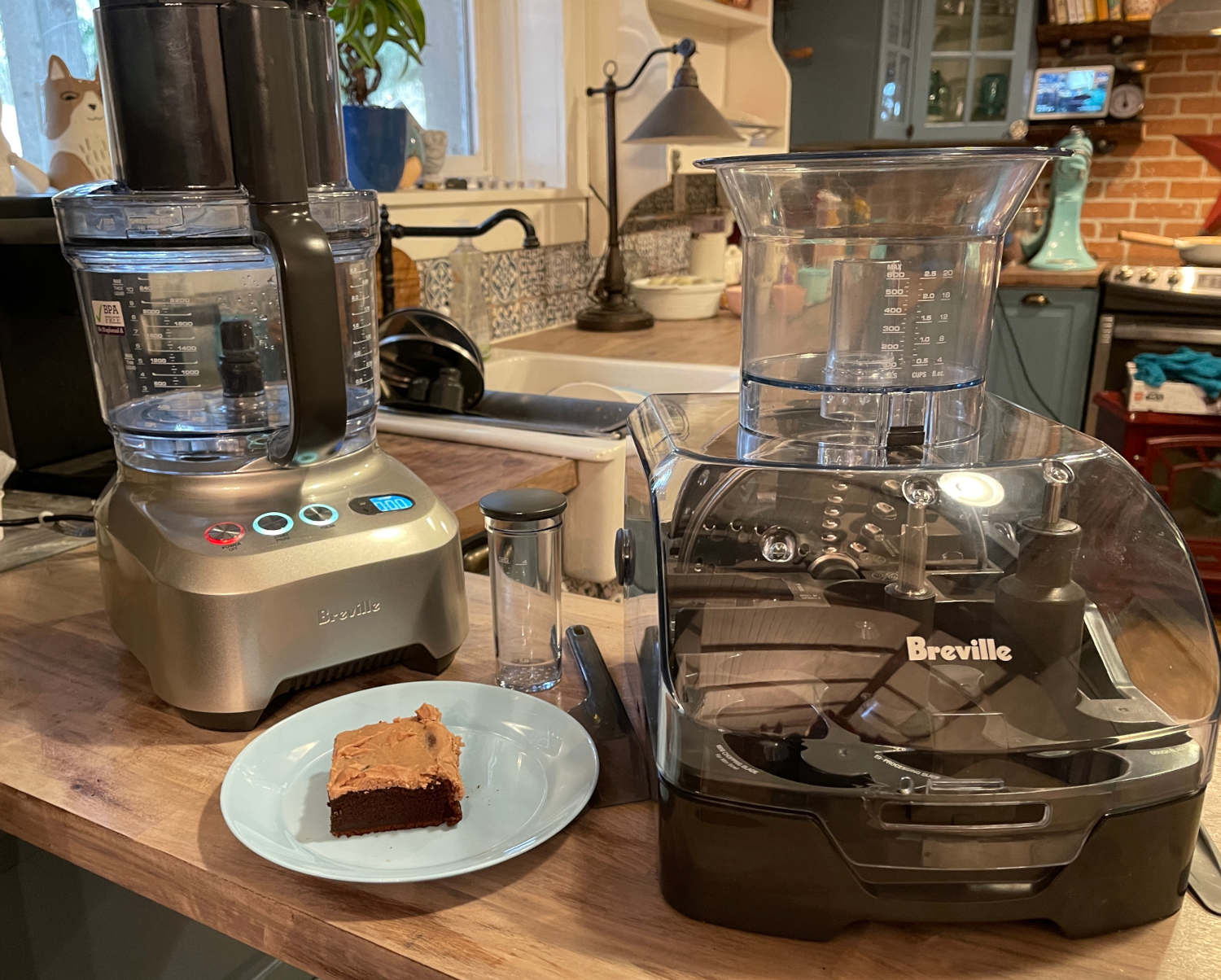 Breville Sous Chef chocolate cake