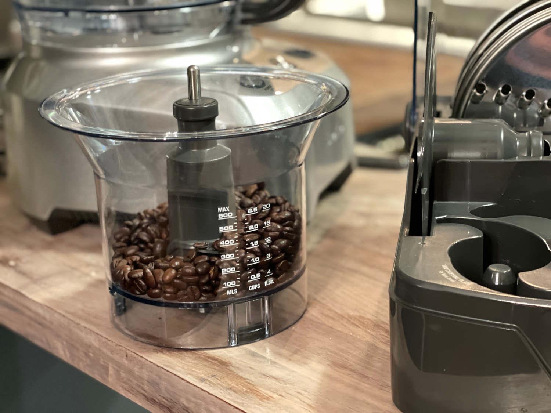 diy espresso powder mini bucket Breville