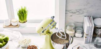 green kitchenaid stand mixer