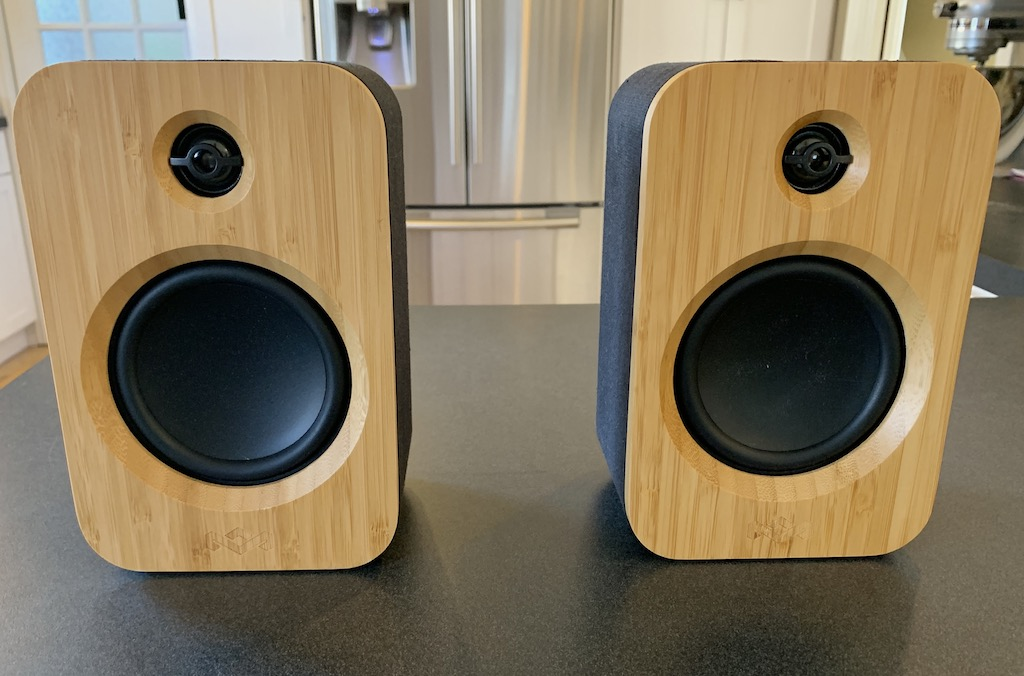 House of Marley Get Together Duo Bluetooth bookshelf speakers review