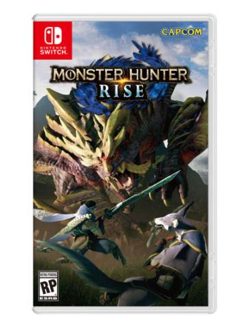 Monster Hunter Rise game for Nintendo Switch