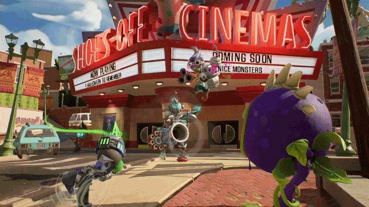 Plants vs Zombies Cinemas