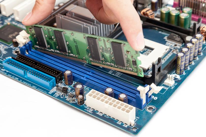 RAM Slots on Motherboard
