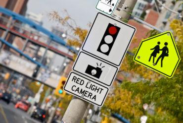 Red light camera Caption