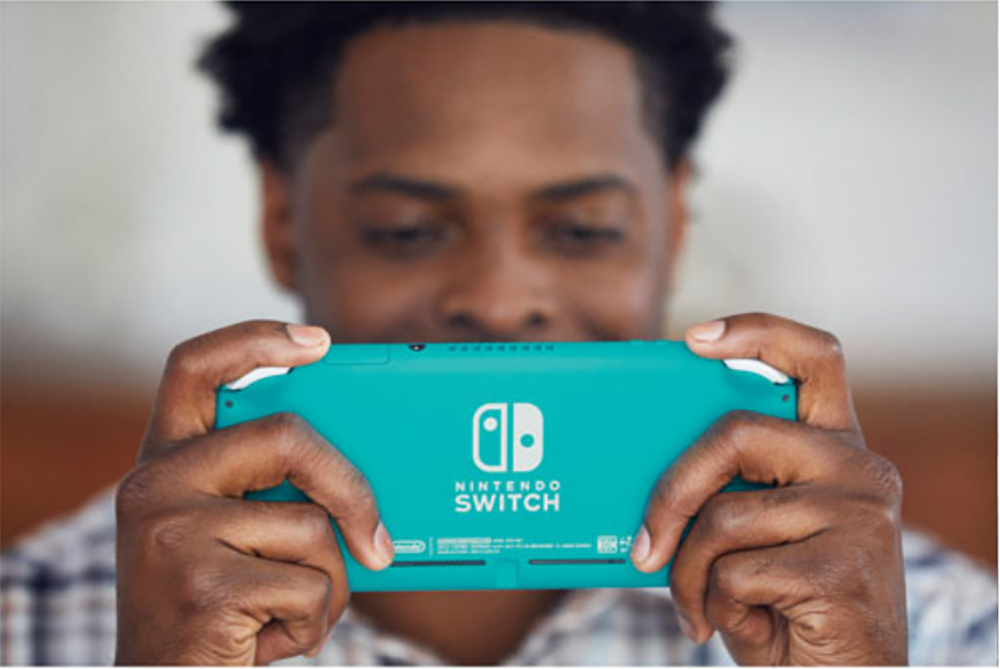 Nintendo Switch Lite handheld gaming console contest feature image