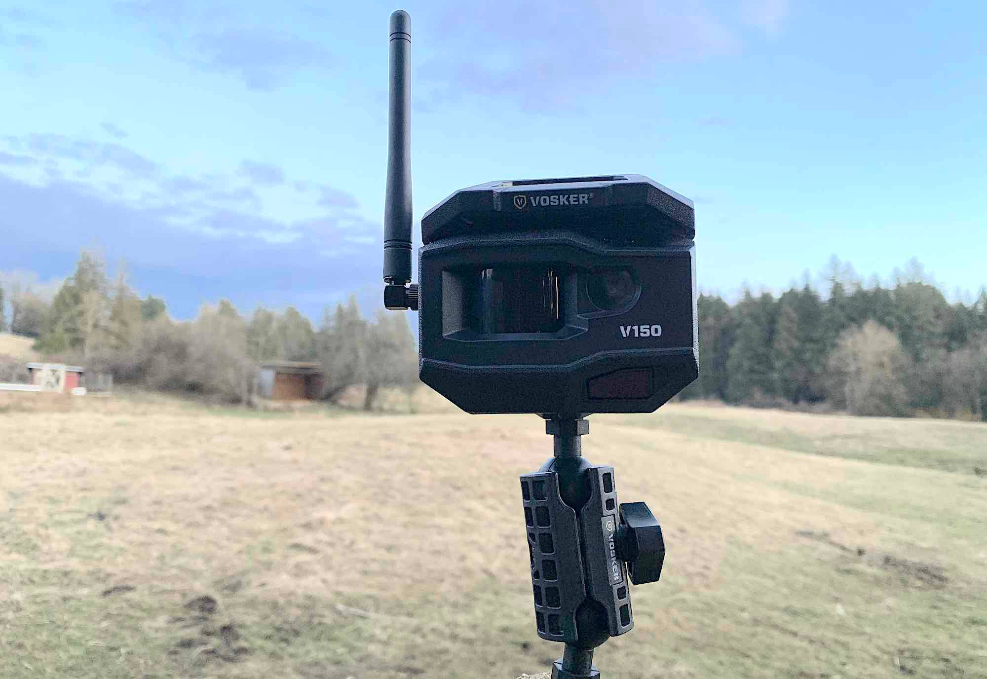 Vosker V150 wireless lte security camera review