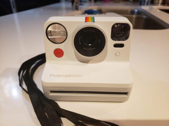 image of the Polaroid Now camera