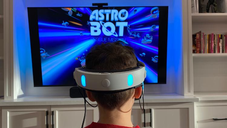PSVR Astro Bot