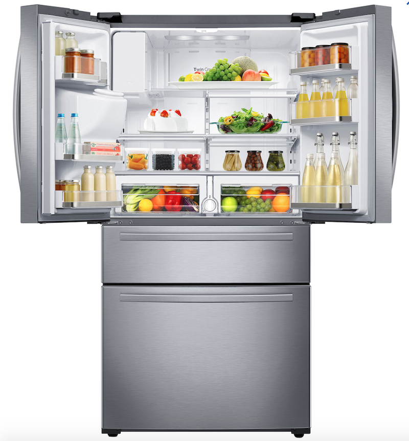 Samsung five door French door refrigerator