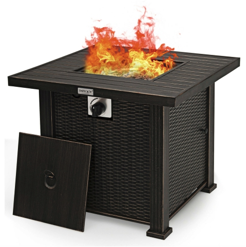 Fire table vs fire pit