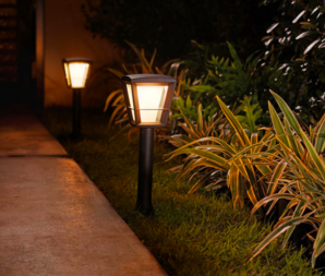 Philips Hue Econic LED Outdoor Pathway Light Base Kit
