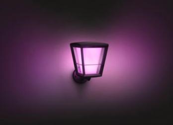 Philips Hue Econic LED Smart Outdoor Lantern Up Wall Light