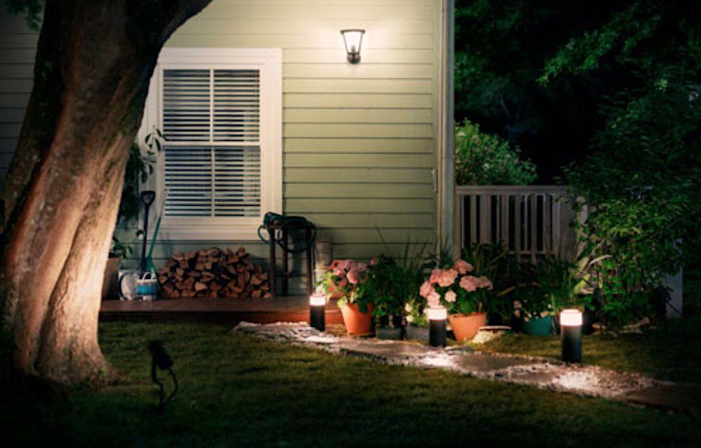 Outdoor smart lighting