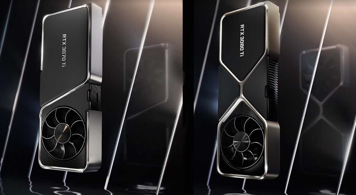 NVIDIA GeForce 3070Ti 3080Ti