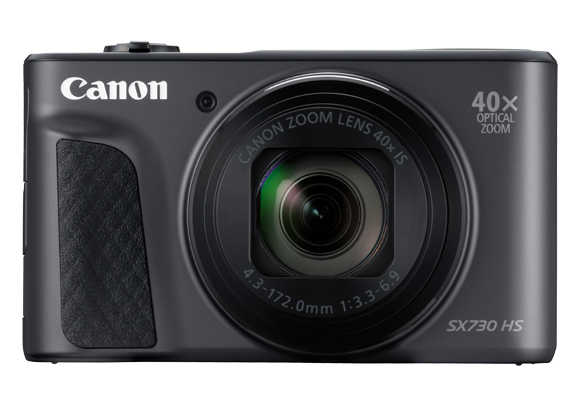 A photo of the Canon Powershot SX730 HS