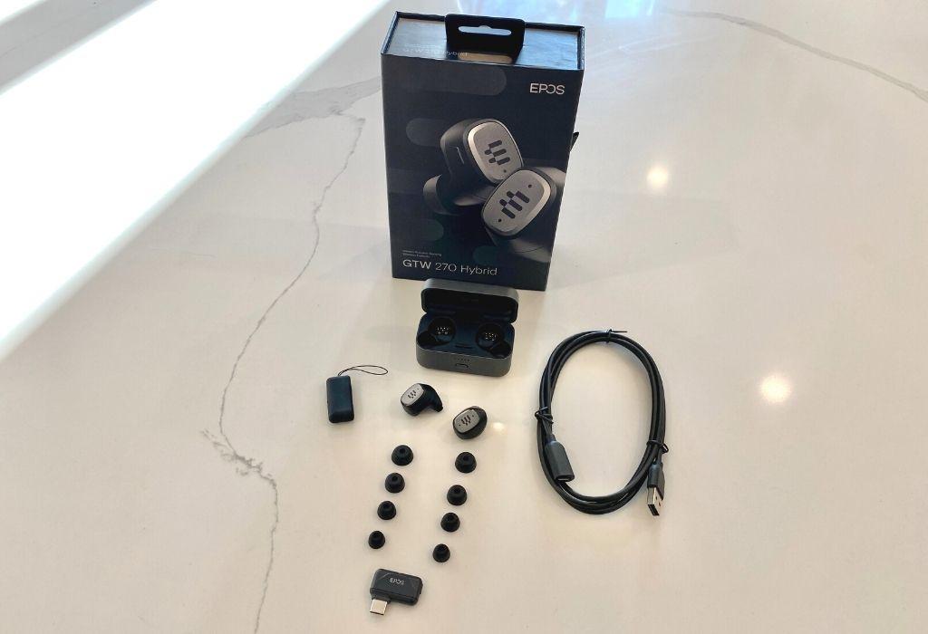 EPOS GTW 270 Hybrid Wireless Gaming Earbuds Banner