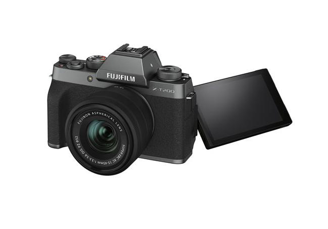 A photo of the Fujifilm X-T200