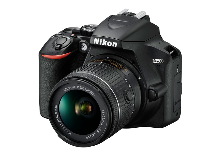 A photo of the Nikon D3500