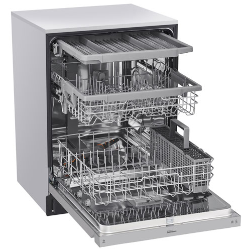 Dishwasher with 3 tiers