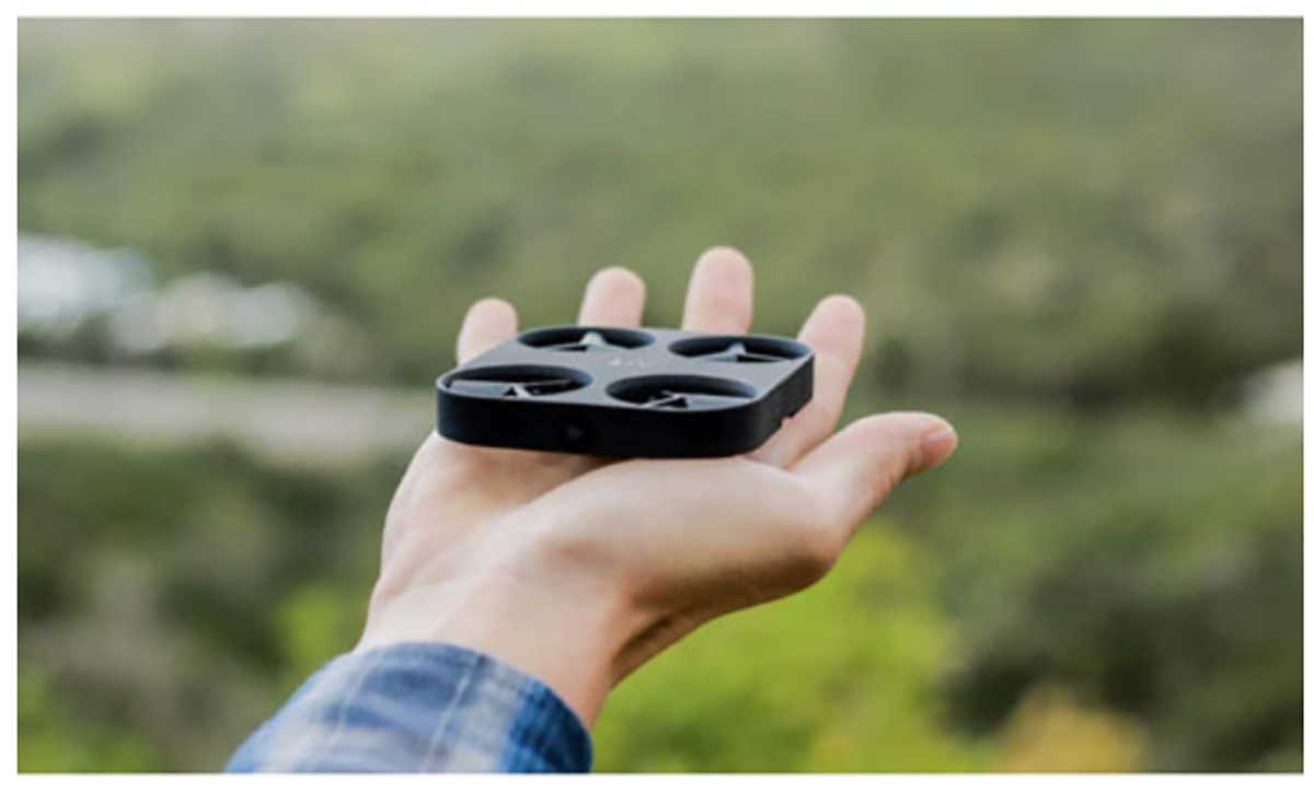 airselfie drone image