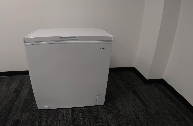 child proofing chest freezer