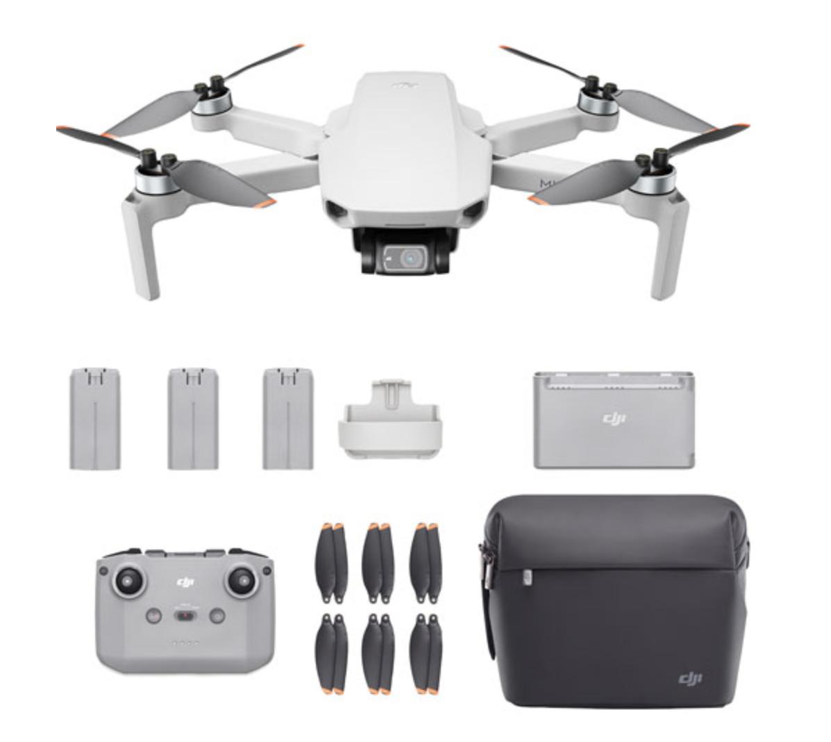 DJI mini quadcopter drone