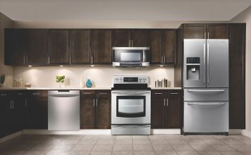 Kitchen appliances lifestyle photo