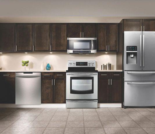 Kitchen appliances lifestyle photo