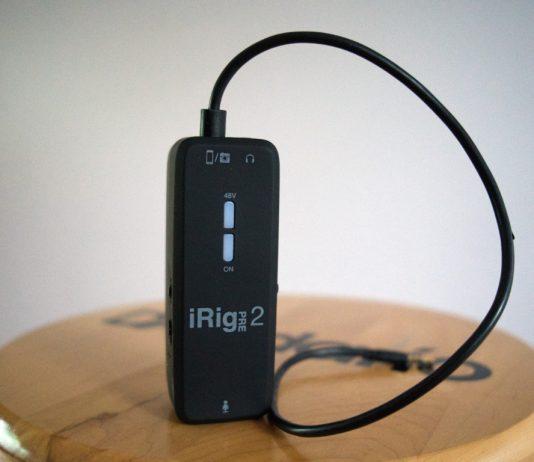 Portable Microphone Preamplifier