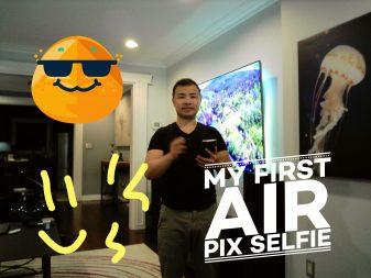Air Pix camera and editing sample
