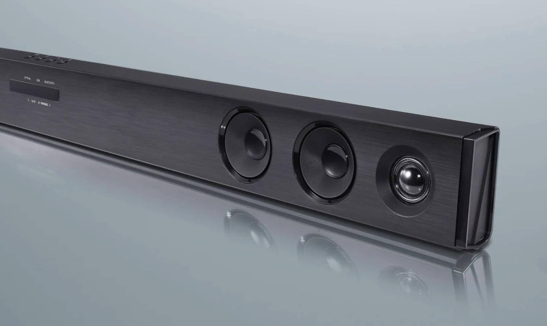 speakers inside soundbar