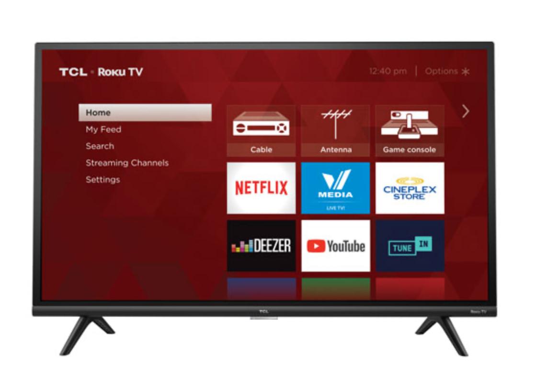 TCL Roku smart TV