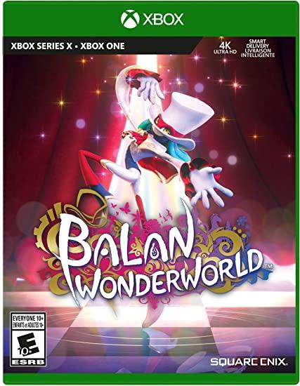 Balan Wonderworld Cover Art