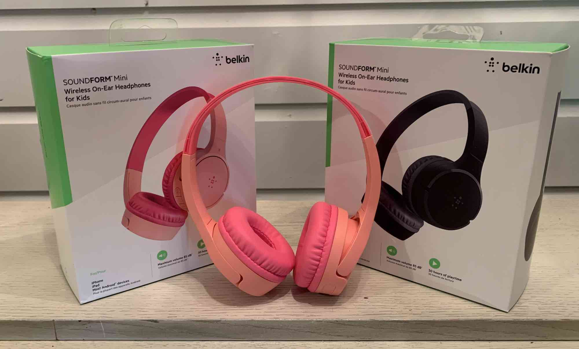 Belkin SoundForm Mini Kids headphones