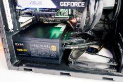 EVGA SuperNOVA 750 GT installed in PC