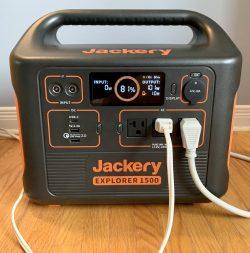 Jackery power stations and solar panels