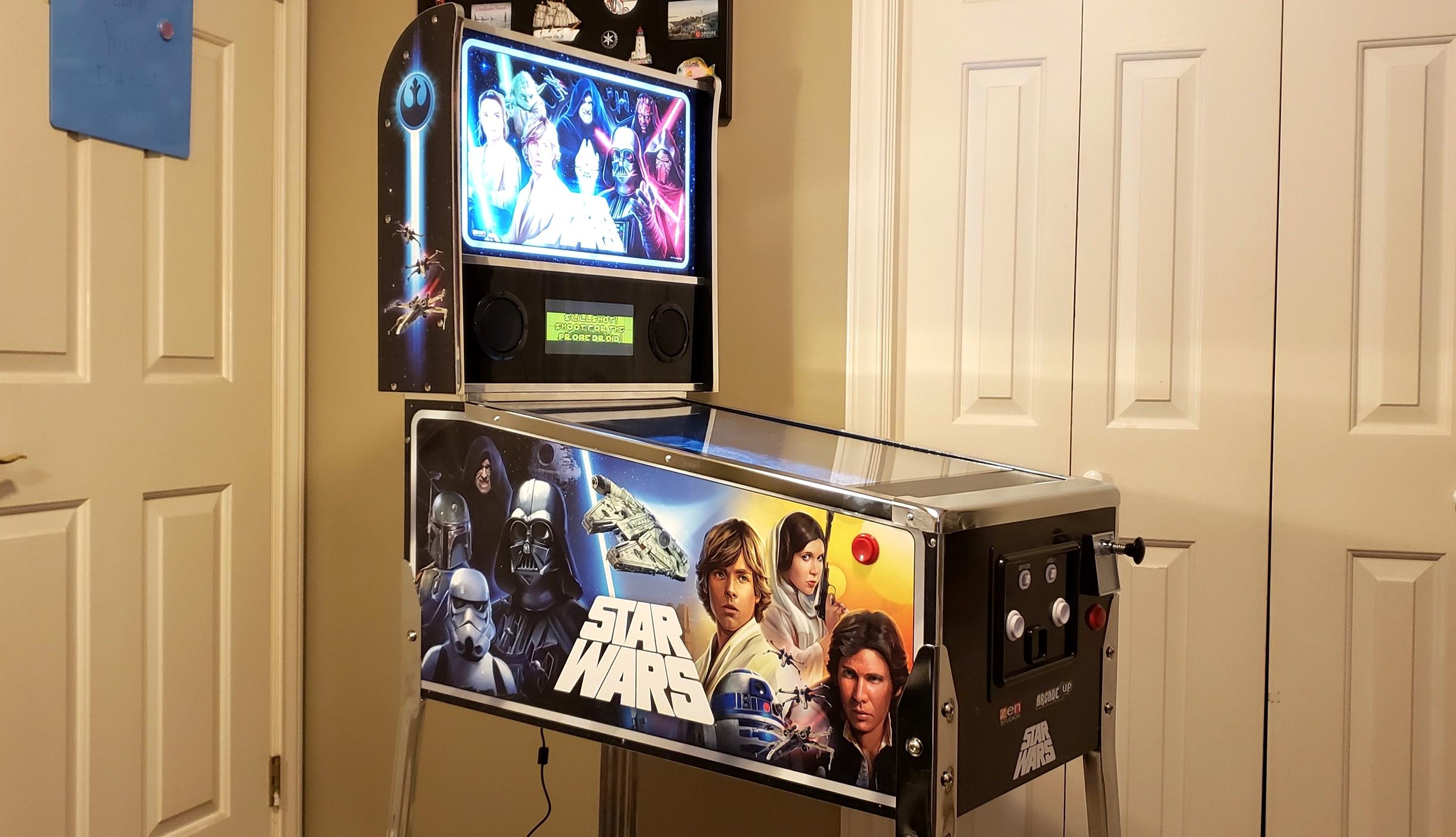 Star Wars digital pinball