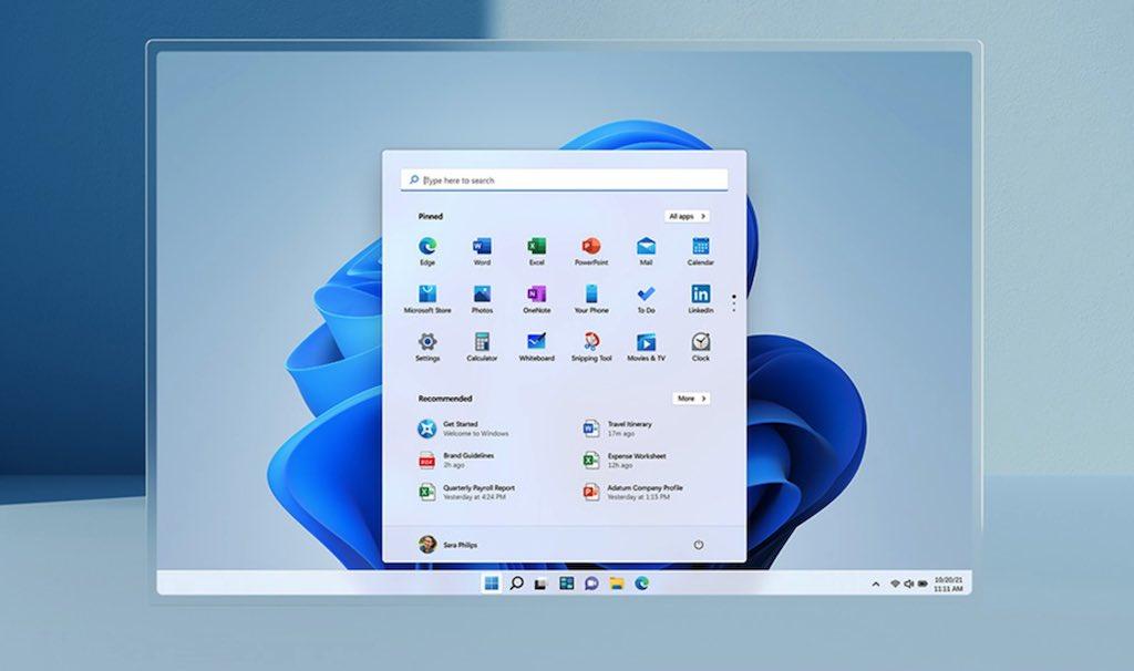 Windows 11 announced