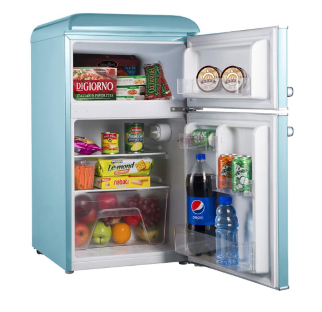 Retro bar fridge