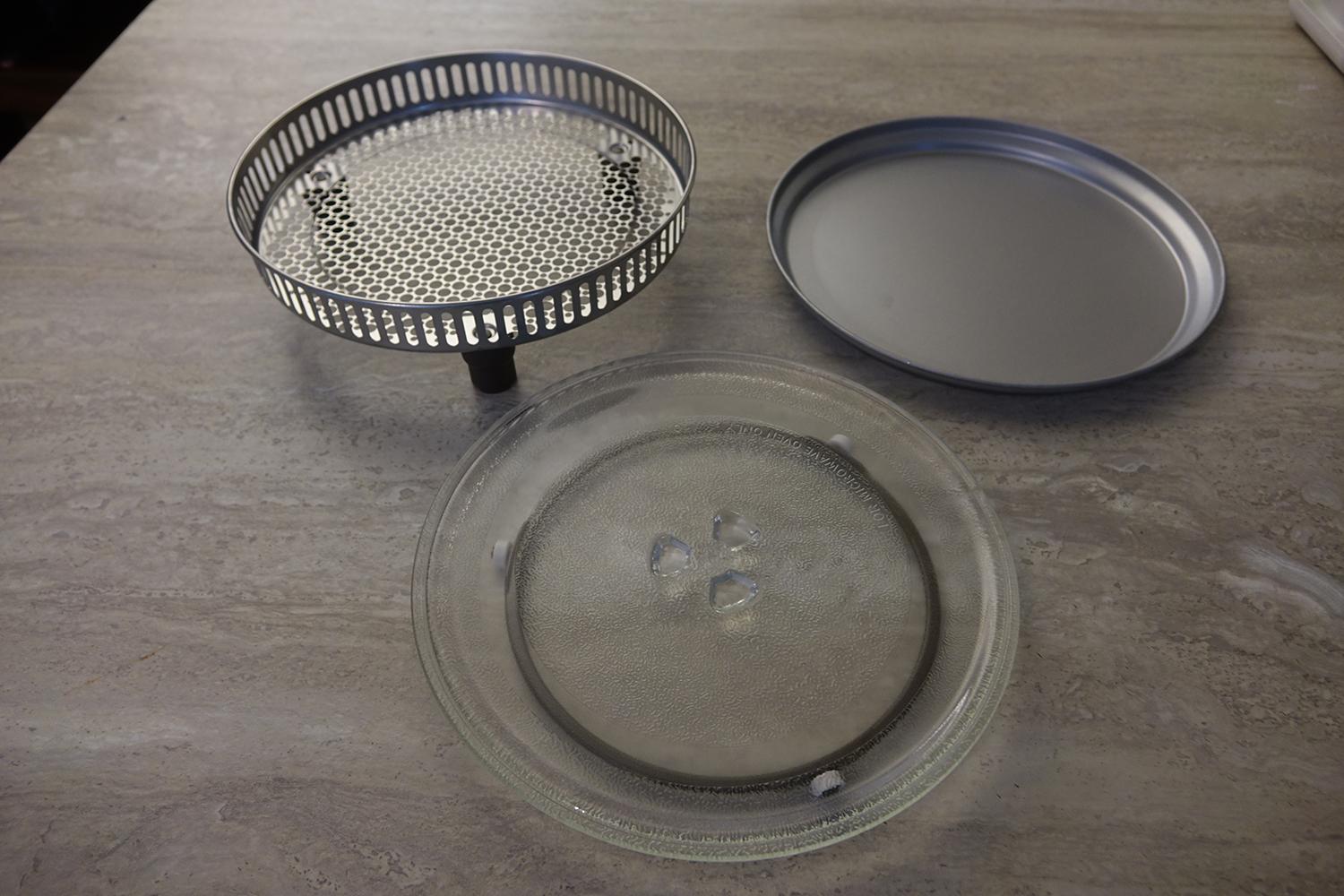 Cuisinart 3-in-1 microwave oven accessories