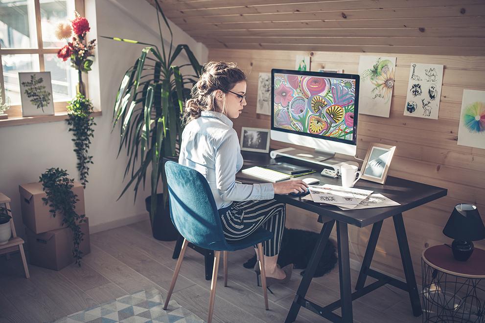 Graphic design lifestyle