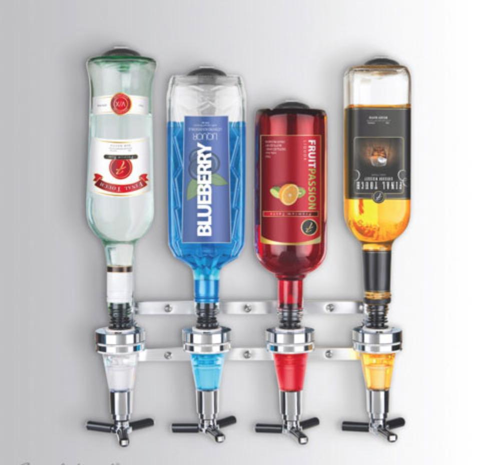 Final Touch liquor dispenser