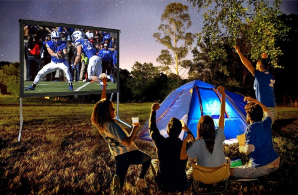 Yardmaster outdoor projection screen